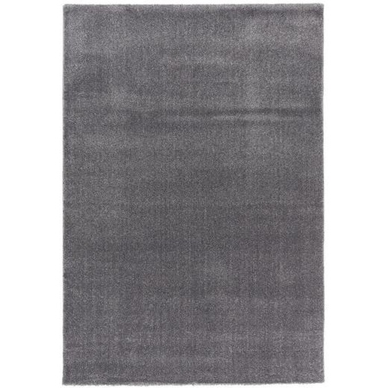 Novel Webteppich 80/150 cm Grau , Kunststoff , Uni , 80 cm