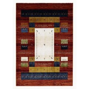 Novel Webteppich Megaglance Makah , Mehrfarbig , Textil , Ornament , rechteckig , 240 cm , in verschiedenen Größen erhältlich , Teppiche & Böden, Teppiche, Moderne Teppiche