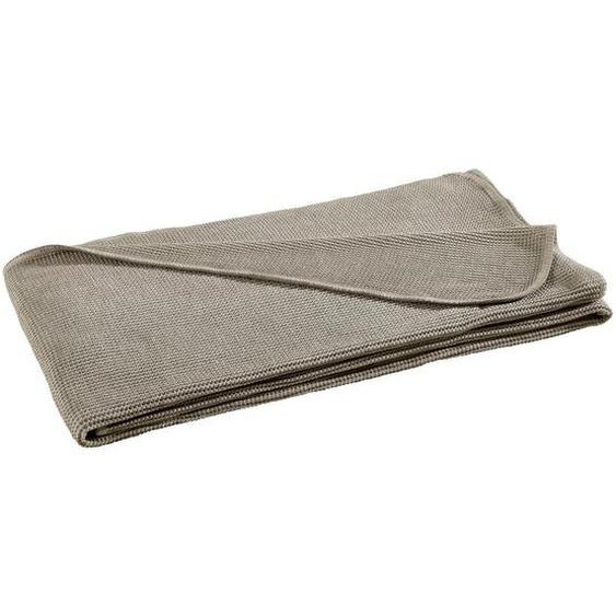 Novel Wohndecke 150/200 cm Braun , Textil , Vintage , 150 cm