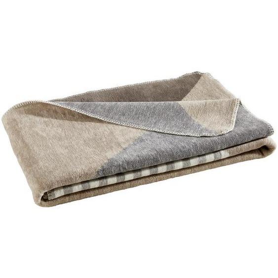 Novel Wohndecke 150/200 cm Grau, Beige , Textil , Abstraktes , 150 cm