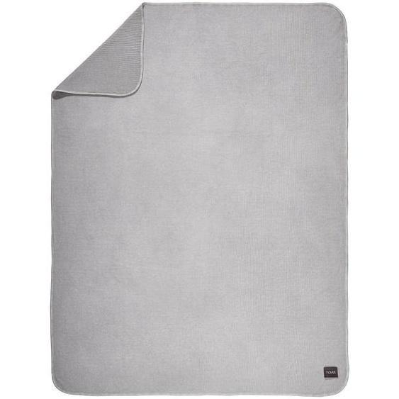 Novel Wohndecke 150/200 cm Grau , Textil , Vintage , 150x200 cm