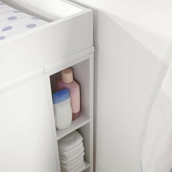 now by hülsta Anegal minimo, für die Kombination mit den Kommoden 18x22,5x93 cm weiß Kinder Kinderregale Kindermöbel Regale