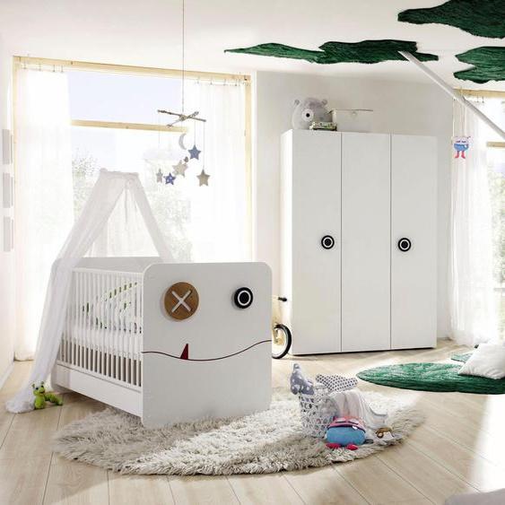 now by hülsta Babyzimmer-Komplettset minimo (Set, 5-tlg) Einheitsgröße weiß Baby Baby-Möbel-Sets Babymöbel Schlafzimmermöbel-Sets