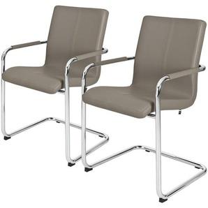 now! by hülsta Freischwinger, 2er-Set  S 17 ¦ Maße (cm): B: 55 H: 88 T: 62 Stühle  Esszimmerstühle  Esszimmerstühle mit Armlehnen » Höffner