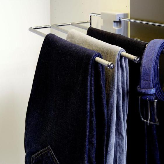 now by hülsta Hosenhalter 25x8x29,5 cm silberfarben Zubehör für Kleiderschränke Möbel