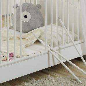 now! by hülsta minimo Kombikinderbett 70x140 weiß Minimo ¦ weiß ¦ Maße (cm): B: 80 H: 88 T: 144 Baby  Babymöbel  Babybetten » Höffner