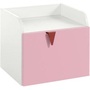now! by hülsta minimo Nachtkommode  Minimo ¦ rosa/pink ¦ Maße (cm): B: 45,5 H: 40 T: 40,4 Tische  Nachttische - Höffner