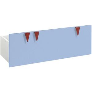 now! by hülsta minimo Stauraumbox für Sitzbank  Minimo | blau | 89,5 cm | 33,3 cm | 35,9 cm | Möbel Kraft