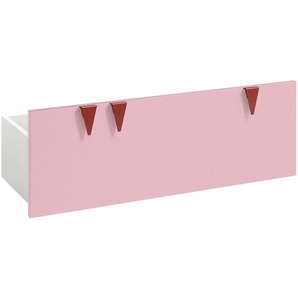 now! by hülsta minimo Stauraumbox für Sitzbank  Minimo | rosa/pink | 89,5 cm | 33,3 cm | 35,9 cm | Möbel Kraft