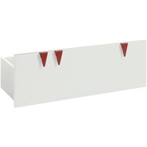 now! by hülsta minimo Stauraumbox für Sitzbank  Minimo | weiß | 89,5 cm | 33,3 cm | 35,9 cm | Möbel Kraft