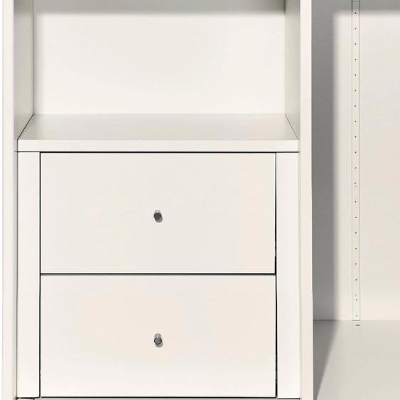 now by hülsta Schubladeneinsatz 48x48,5x44,8 cm weiß Zubehör für Kleiderschränke Möbel Schubladeneinsätze