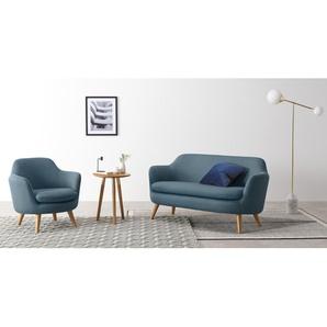 Nya Sessel, Denimblau
