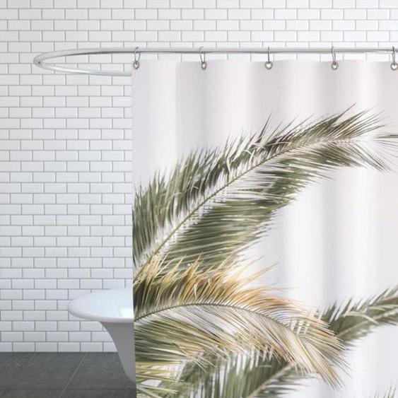 Oasis Palm 3 - Duschvorhang