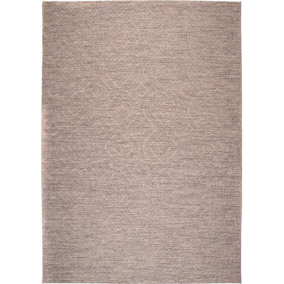 Obsession Teppich Indoor und Outdoor Nordic 872 Taupe
