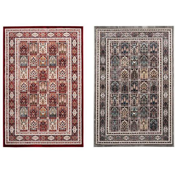 Obsession Teppich »Isfahan 742«, mit Bordüre, 3D Effekt, geeignet für Fußbodenheizung