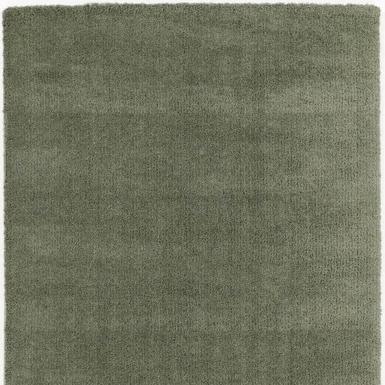 OCI DIE TEPPICHMARKE Hochflor-Teppich Soft Dream, rechteckig, 30 mm Höhe, Besonders weich durch Microfaser, Wohnzimmer B/L: 200 cm x 250 cm, 1 St. grün Esszimmerteppiche Teppiche nach Räumen