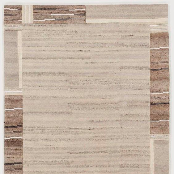 OCI DIE TEPPICHMARKE Orientteppich Savana Kite, rechteckig, 6 mm Höhe, handgeknüpft, Wohnzimmer B/L: 170 cm x 240 cm, 4 St. grau Schlafzimmerteppiche Teppiche nach Räumen