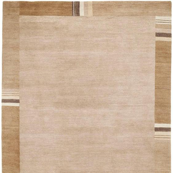 OCI DIE TEPPICHMARKE Orientteppich Sensation Lakir, rechteckig, 6 mm Höhe, handgeknüpft, Wohnzimmer B/L: 90 cm x 160 cm, 1 St. braun Esszimmerteppiche Teppiche nach Räumen