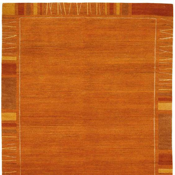 OCI DIE TEPPICHMARKE Orientteppich Sensation Rekhi, rechteckig, 6 mm Höhe, handgeknüpft, Wohnzimmer B/L: 120 cm x 180 cm, 1 St. rot Esszimmerteppiche Teppiche nach Räumen