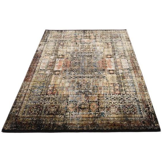 OCI DIE TEPPICHMARKE Teppich GLAMOUR DEVORA, rechteckig, 7 mm Höhe, Wohnzimmer B/L: 120 cm x 180 cm, 1 St. bunt Schlafzimmerteppiche Teppiche nach Räumen