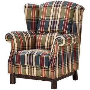 Ohrensessel kariert - Stoff Newport ¦ mehrfarbig ¦ Maße (cm): B: 90 H: 106 T: 93 Polstermöbel  Sessel  Polstersessel » Höffner