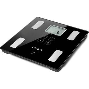 Omron Körperanalyse VIVA HBF-222T-EBK, Digitale Premium-Waage für die exakte Messung der Körperwerte