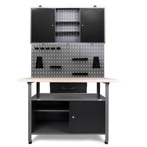 Ondis24 Klaus Werkbank-Set grau 120,0 x 60,0 cm