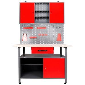 ONDIS24 Werkstatt-Set 120 cm, mit LED