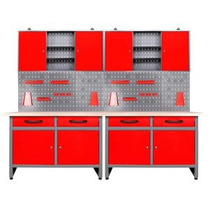 ONDIS24 Werkstatt-Set 240 cm