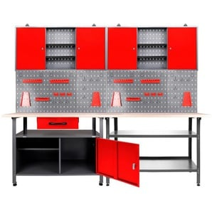 ONDIS24 Werkstatt-Set »Nobbi & Klaus«, 240 cm