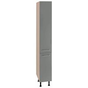 Apothekerschrank »Bern«, grau, Material Metall, OPTIFIT