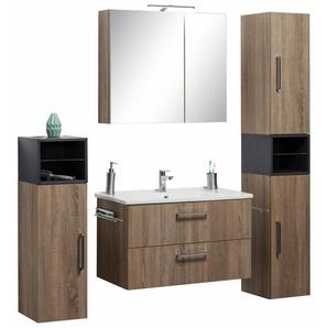 Waschtisch-Set, braun »Napoli«, OPTIFIT