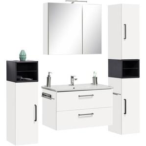 Waschtisch-Set »Napoli«, weiß, OPTIFIT