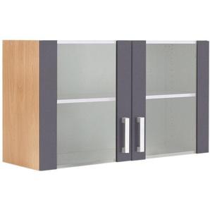 OPTIFIT Hängeschrank »Odense« 100 cm breit, mit 2 Türen mit Glaseinsatz