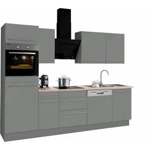 OPTIFIT »Bern« Küchenzeile mit E-Geräten, Breite 270 cm
