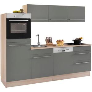 OPTIFIT Küchenzeile, 28mm Arbeitsplatte, »Küchenzeile«, mit Schubkästen