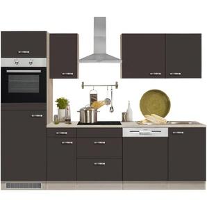 Optifit Küchenzeile mit E-Geräten »Faro«, Breite 270 cm