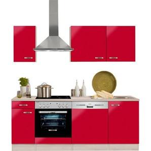 OPTIFIT Küchenzeile »Faro«, ohne E-Geräte, Breite 210 cm