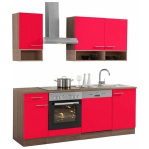 OPTIFIT Küchenzeile mit E-Geräten,»Korfu« Breite 210 cm