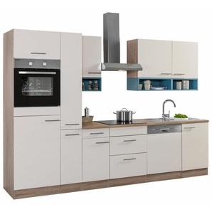 OPTIFIT Küchenzeile mit E-Geräten,»Korfu« Breite 300 cm