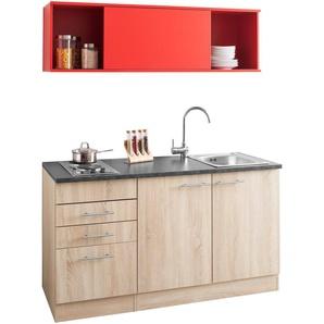 OPTIFIT Küchenzeile Mini, mit E-Geräten, Breite 150 cm