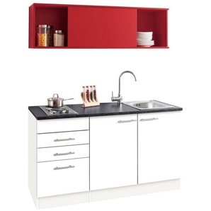 OPTIFIT Küchenzeile »Mini«, mit E-Geräten, Breite 150 cm