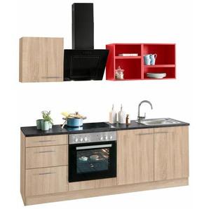 OPTIFIT Singleküche »Mini« mit E-Geräten, Breite 210 cm