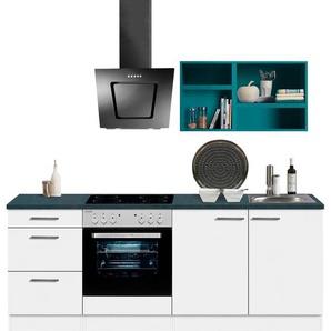 OPTIFIT Küchenzeile Mini, ohne E-Geräte, Breite 210 cm B: blau Küchenzeilen -blöcke Küchenmöbel