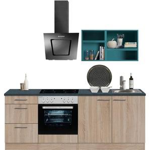 OPTIFIT Küchenzeile Mini, ohne E-Geräte, Breite 210 cm