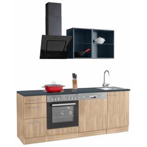 OPTIFIT Küchenzeile Mini, ohne E-Geräte, Breite 210 cm B: grau Küchenzeilen -blöcke Küchenmöbel