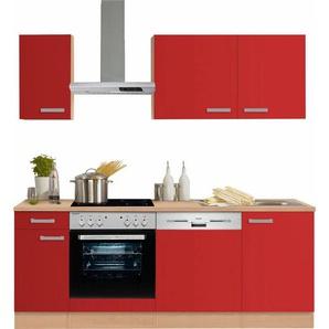 OPTIFIT Küchenzeile ohne E-Geräte »Odense« , Breite 210 cm mit 28 mm starker Arbeitsplatte