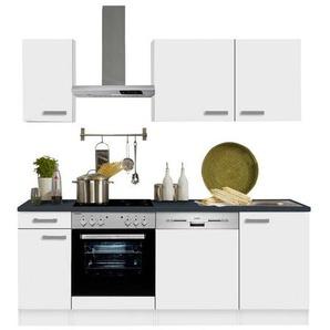 OPTIFIT Küchenzeile »Odense«, ohne E-Geräte, Breite 210 cm mit 28 mm starker Arbeitsplatte