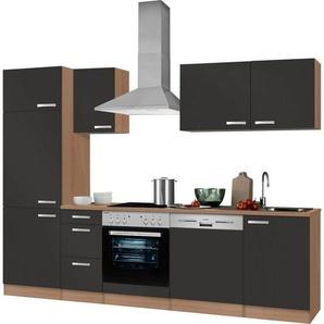 Küchenzeile ohne E-Geräte, OPTIFIT, »Odense«, Breite 270 cm