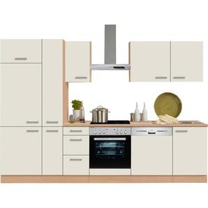 OPTIFIT Küchenzeile ohne E-Geräte »Odense« , Breite 300 cm mit 28 mm starker Arbeitsplatte